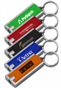USB Memory Direct Square Light Key Chain