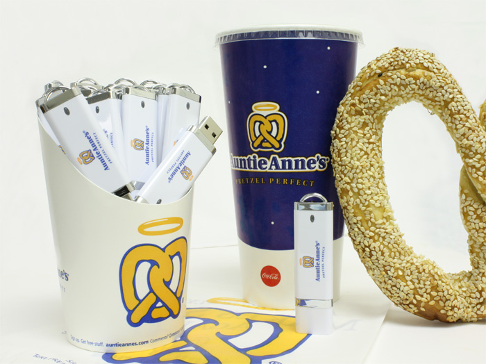 Auntie Anne's USB Drives