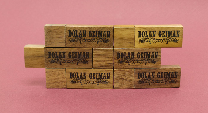 Dolan Geiman WDR1 Wooden USB Drives 3
