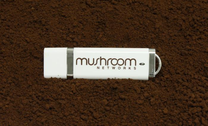 Mushroom Networks DE White Flash Drive