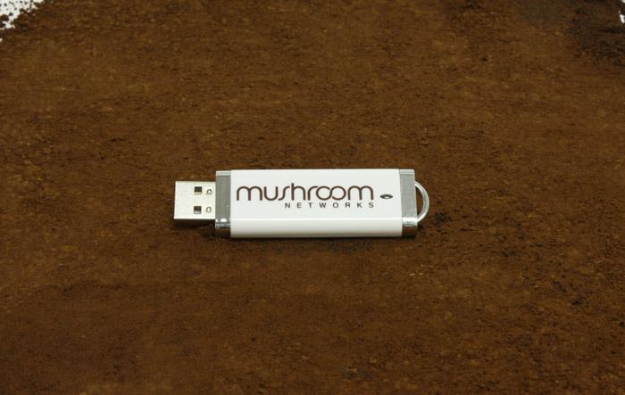 Mushroom Networks DE Style USB Flash Drive
