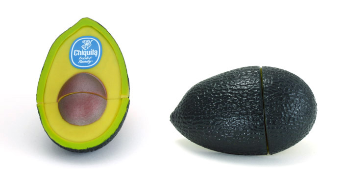Custom Avocado USB Drive