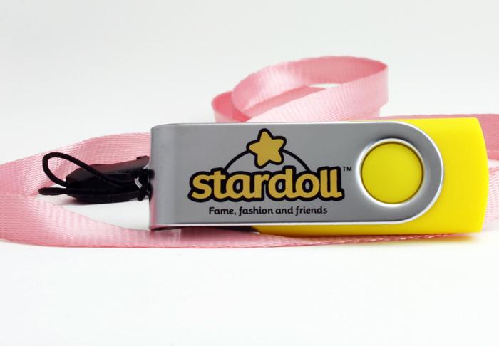Stardoll Flash Drive w/Lanyard