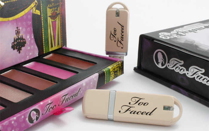 Too Faced Custom Color USB Drives