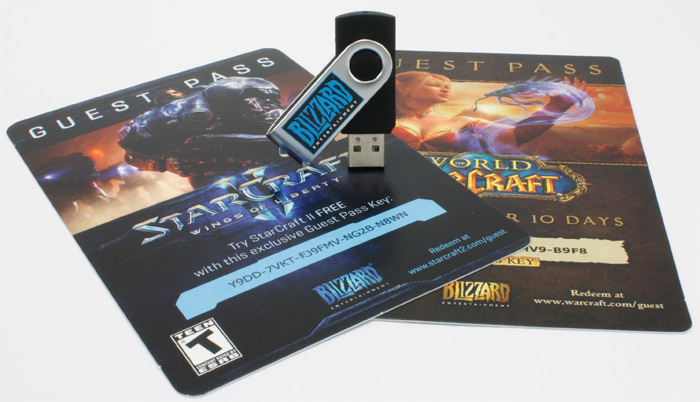 Blizzard's Custom Flash Drive