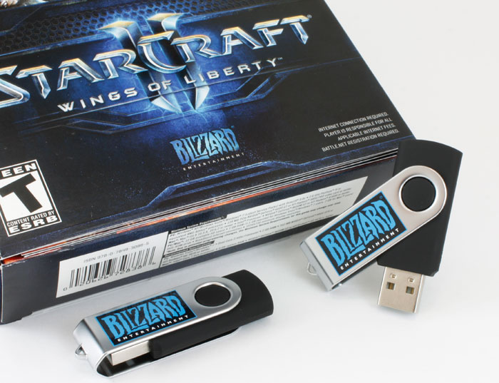 SWM USB Drives for Blizzard